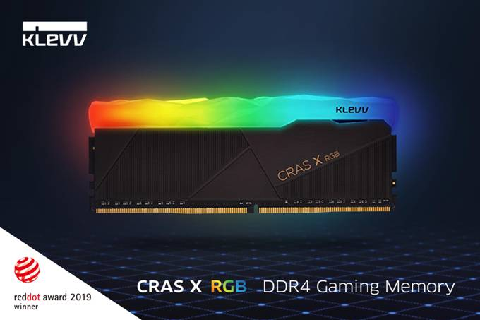Enable images or just imagine how amazing the KLEVV CRAS X RGB DDR4 Gaming Memory looks like..